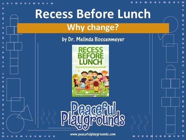 Recess Before Lunch Webinar