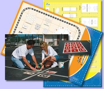 playground blue print