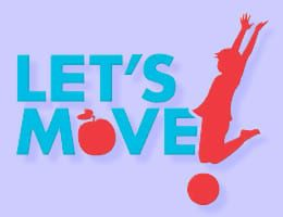 lets move logo- childhood obesity prevention