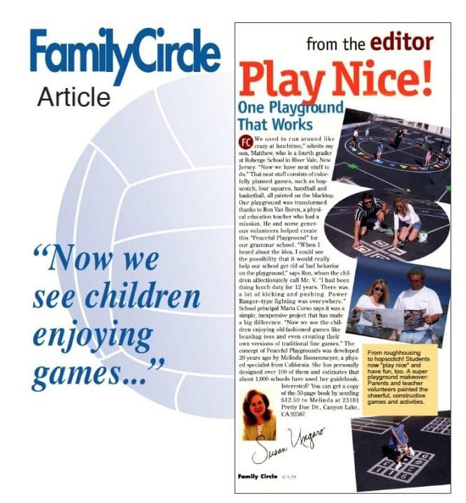 Family Circle Playground Games