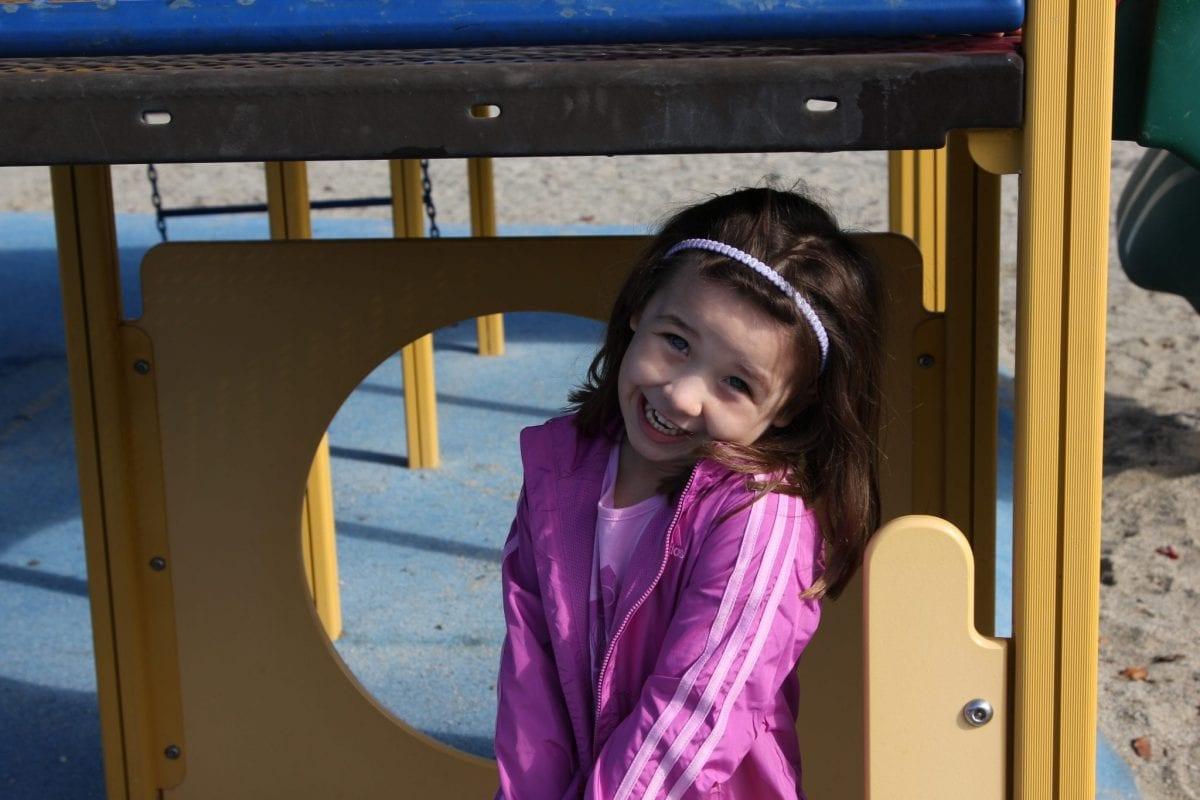 school playground student