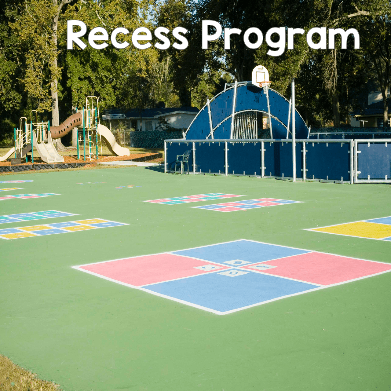 Recess Program Stecils Peaceful Playgrounds - Playground stencils