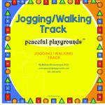 Jog/Walk Track Stencils