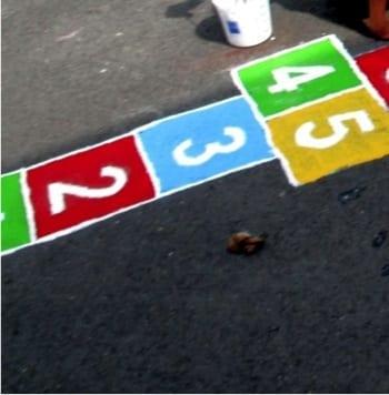 playgrounds marking
