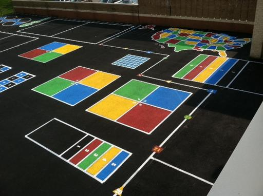 Playground Painted Games Schools