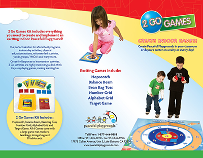 2 Go Games brochures