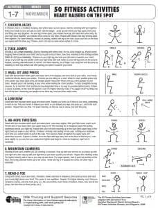 50 Heart Raising Activities