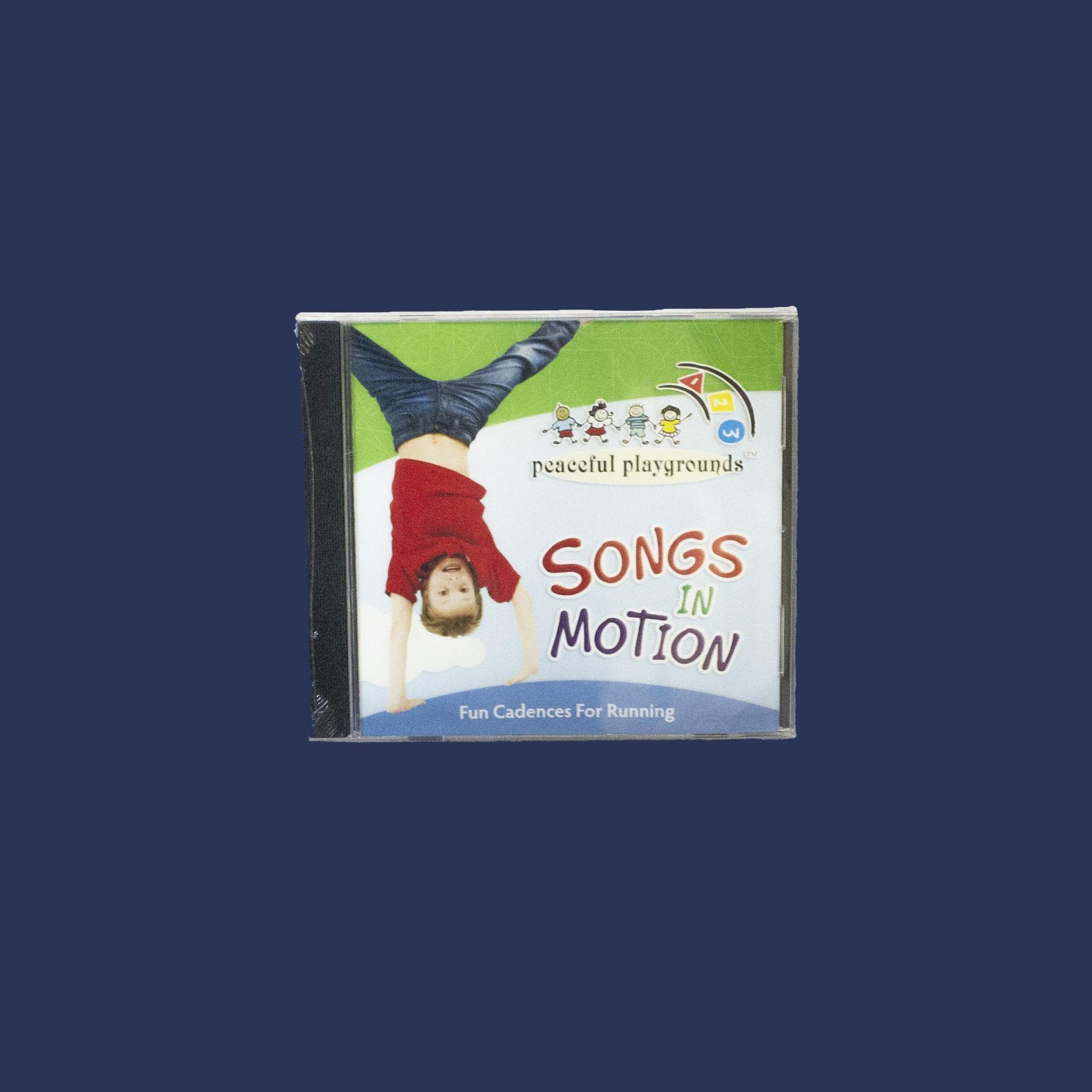 Songs in Motion CD