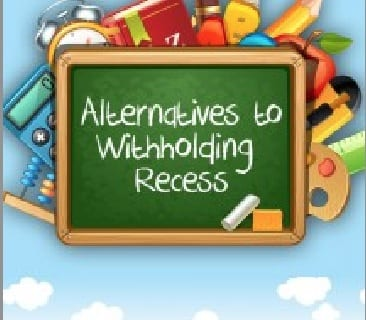 Alternatives to recess