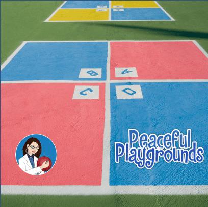 playground 4 square