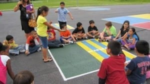 Peaceful Playgrounds Mac Arthur school