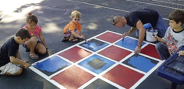 Peaceful Playgrounds behavior support