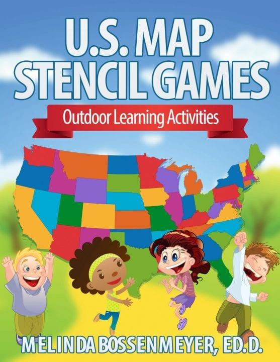U.S. Map Stencil Games