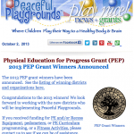 Oct. Play Nice Newsletter