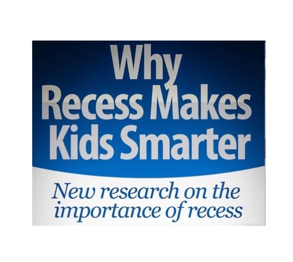 Recess makes kids smarter