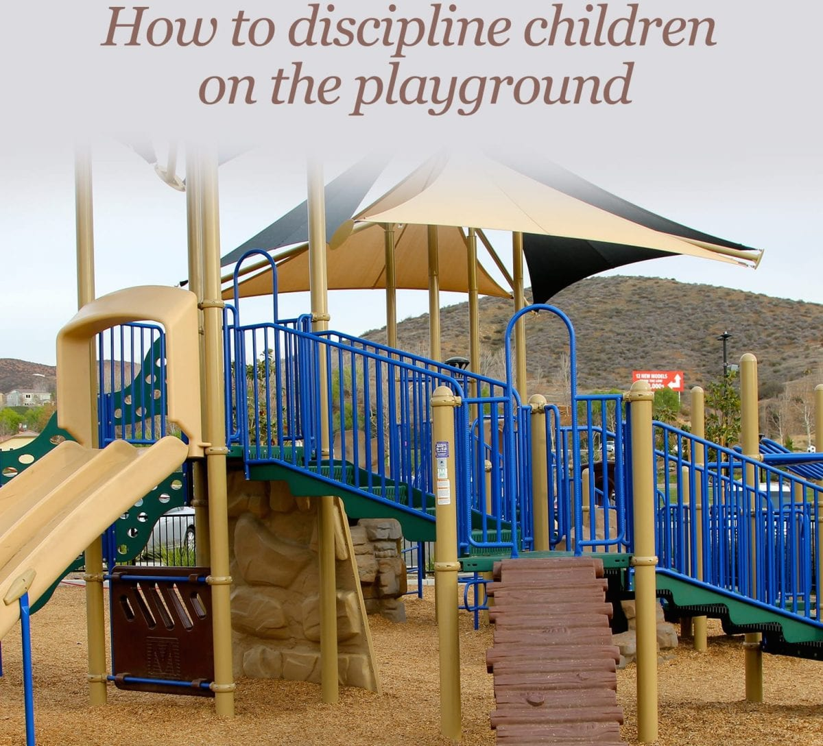 Discipline on the playground