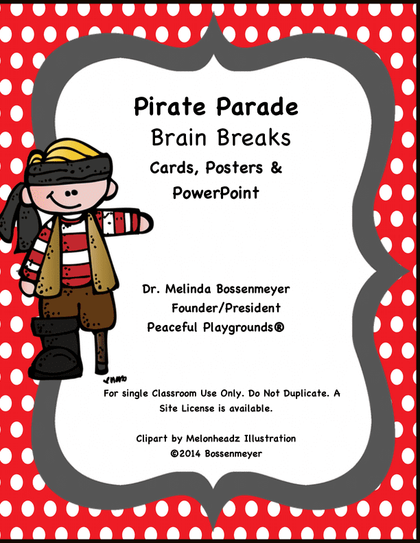 Pirate Brain Breaks