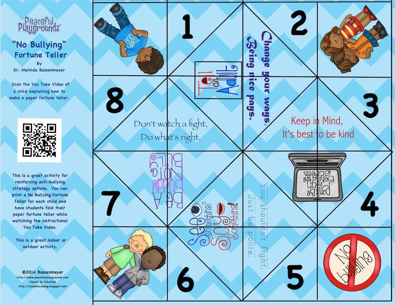 origami fortune teller online game