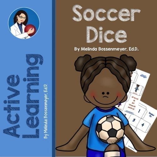 Soccer Game Dice