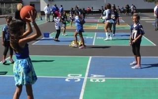 4 square court