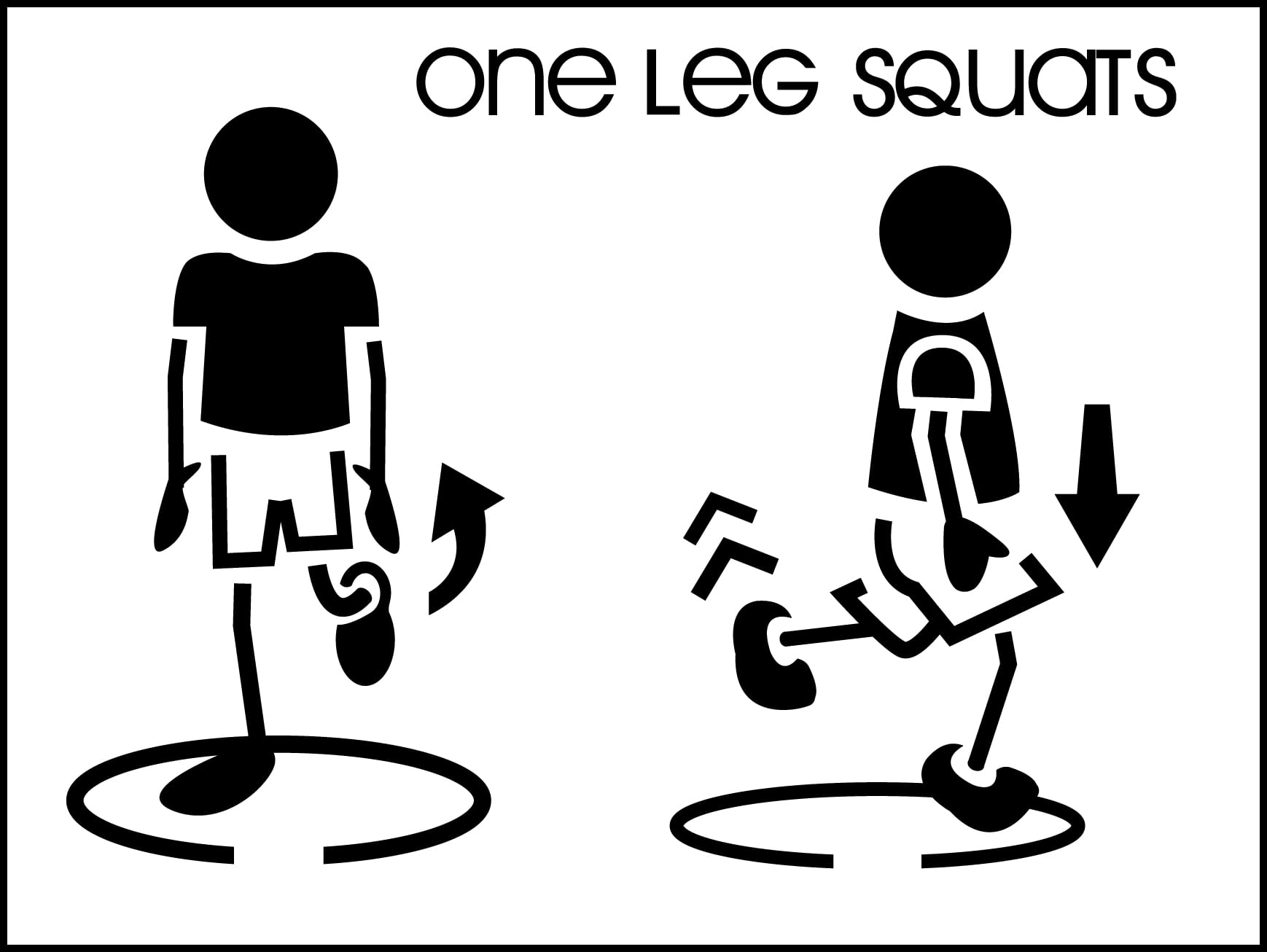 One-Leg-Squats