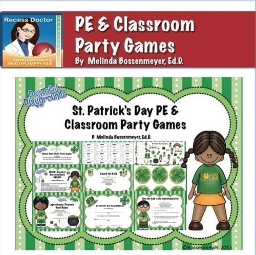 St pats PE Party Cov 8x8