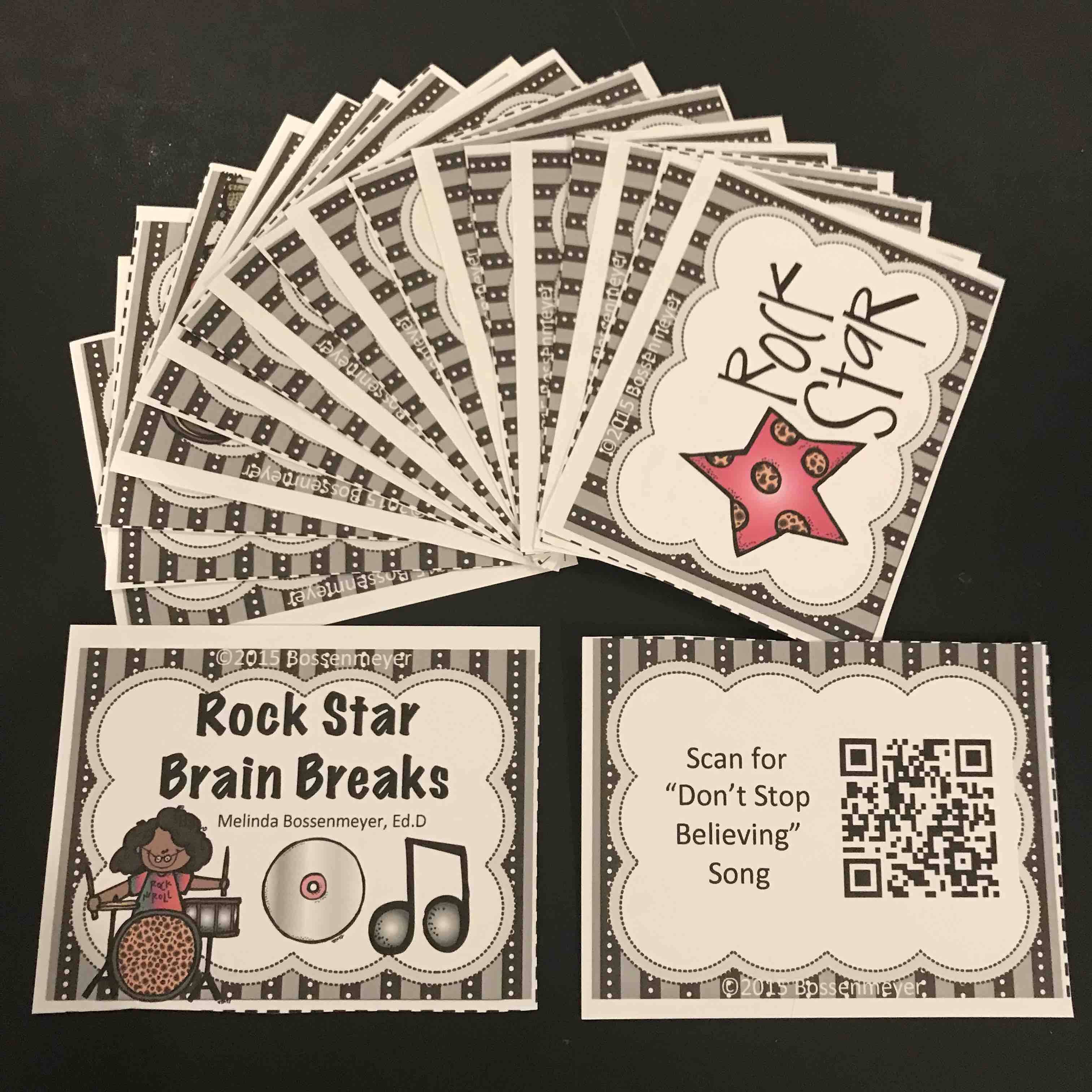 Rock Star Brain Breaks pix