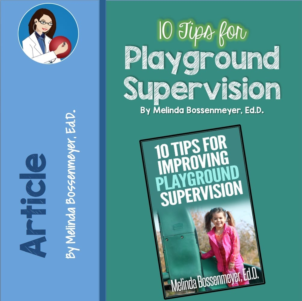 10 tips playground supervision