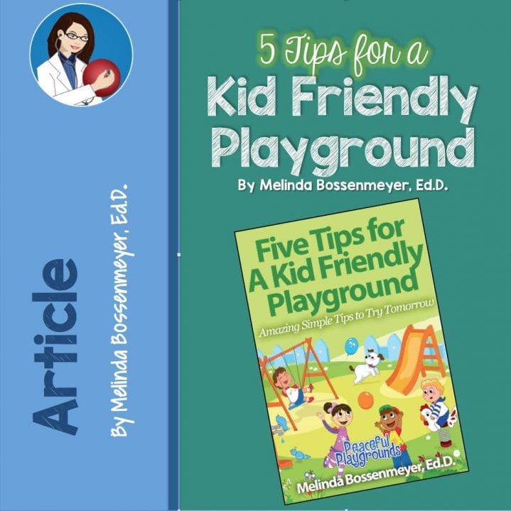 5 tips kid friendly playground