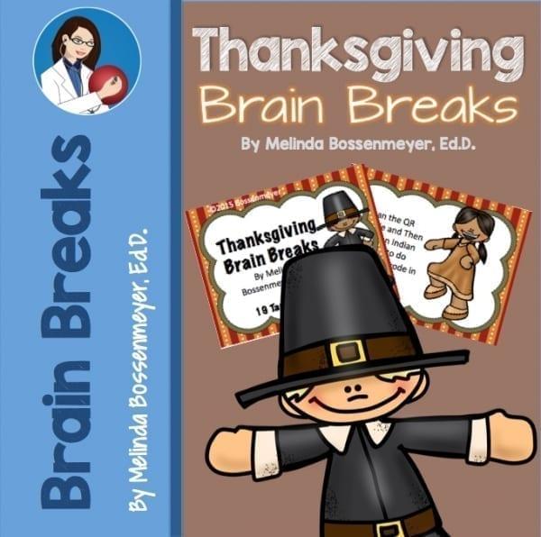 Brain Breaks Thanksgiving