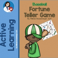 BASEBALL FORTUNE TELLER COVER