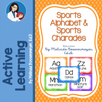 Sports Alphabet Charades