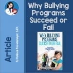 Why bullying programs succeed or fail?