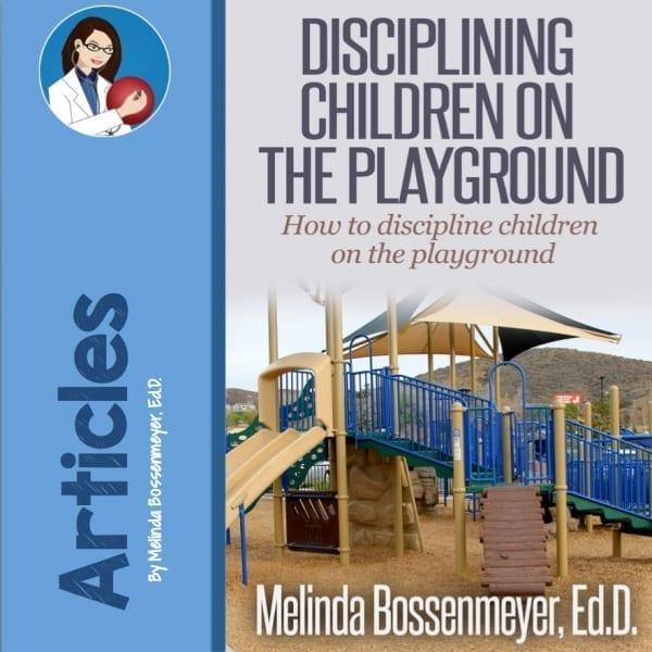 Discipline on the playground