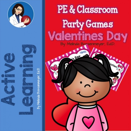 Valentine's Day PE & Classroom Party Games