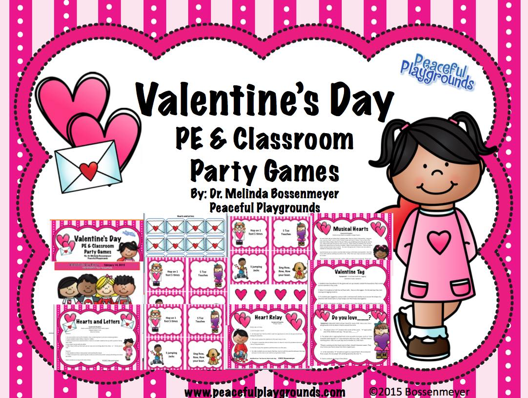 Valentine's Day PE and Party Games