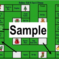 SAMPLE Christmas PE Party Games
