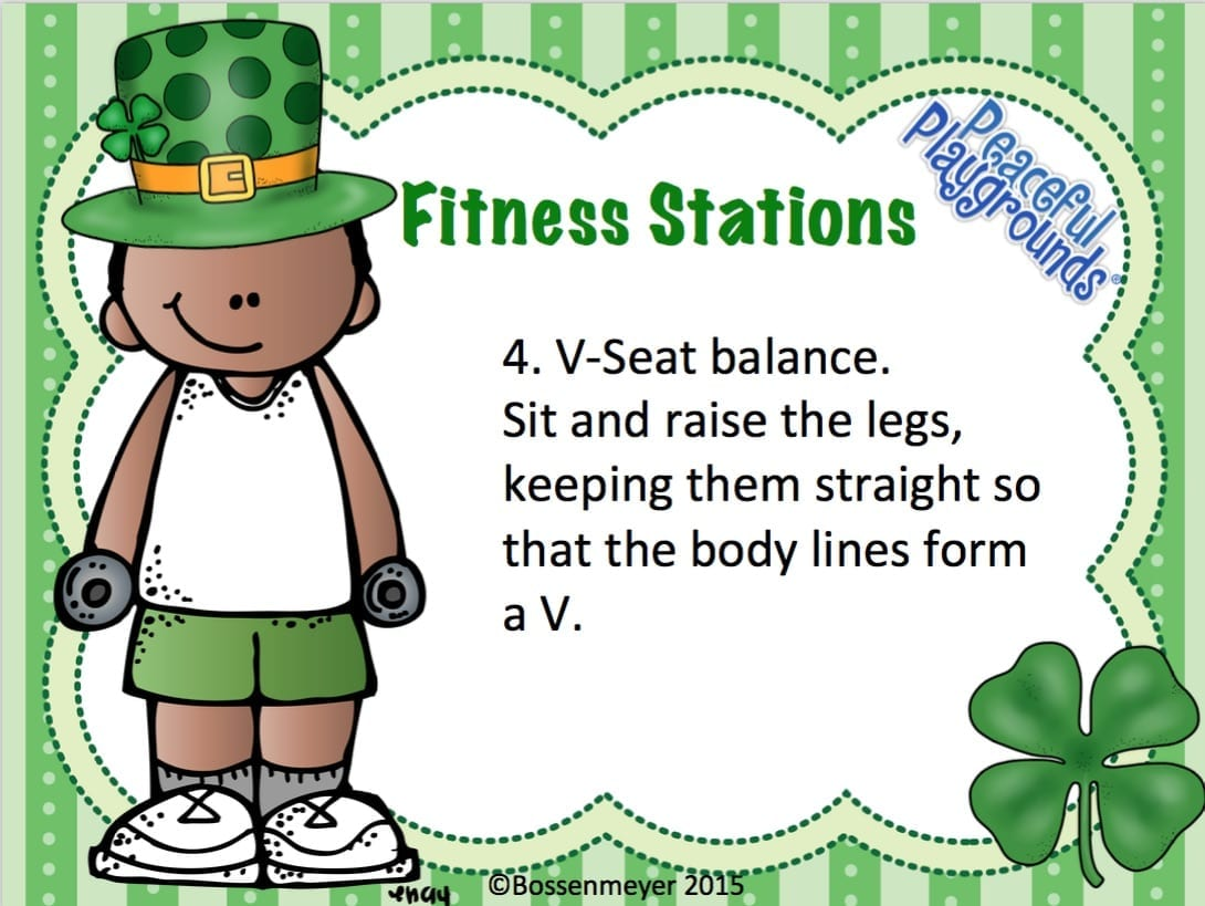 St Pats Fitness Station cards