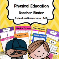 PE Teacher Binder