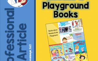 recess and playground books