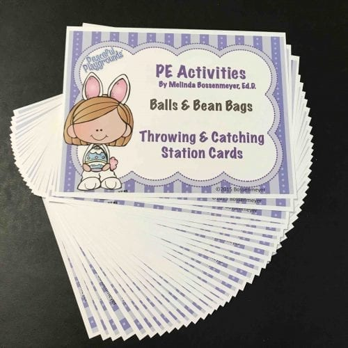 Easter Station Cards PE