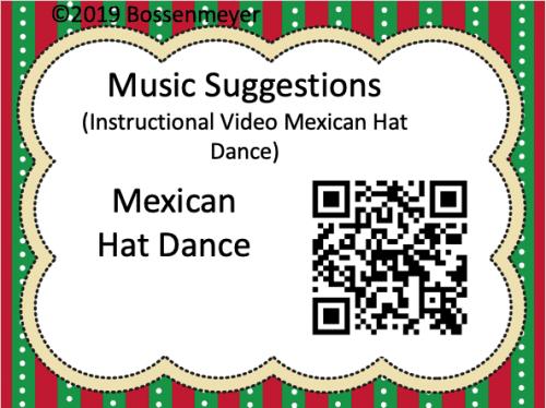 Mexican Hat Dance QR code